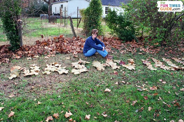 'Nashville' spelled out in the leaves