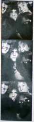 College friends in a photobooth... I'm in the top left.